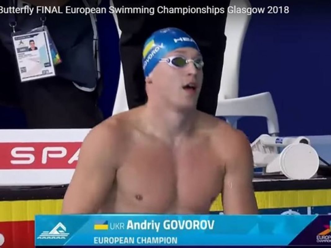 Українець Говоров став рекордсменом і чемпіоном Європи із плавання