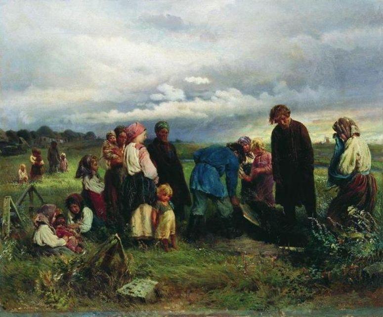 Смолоскипи, танці на могилах і скорботні кольори: як хоронили родичів наші предки