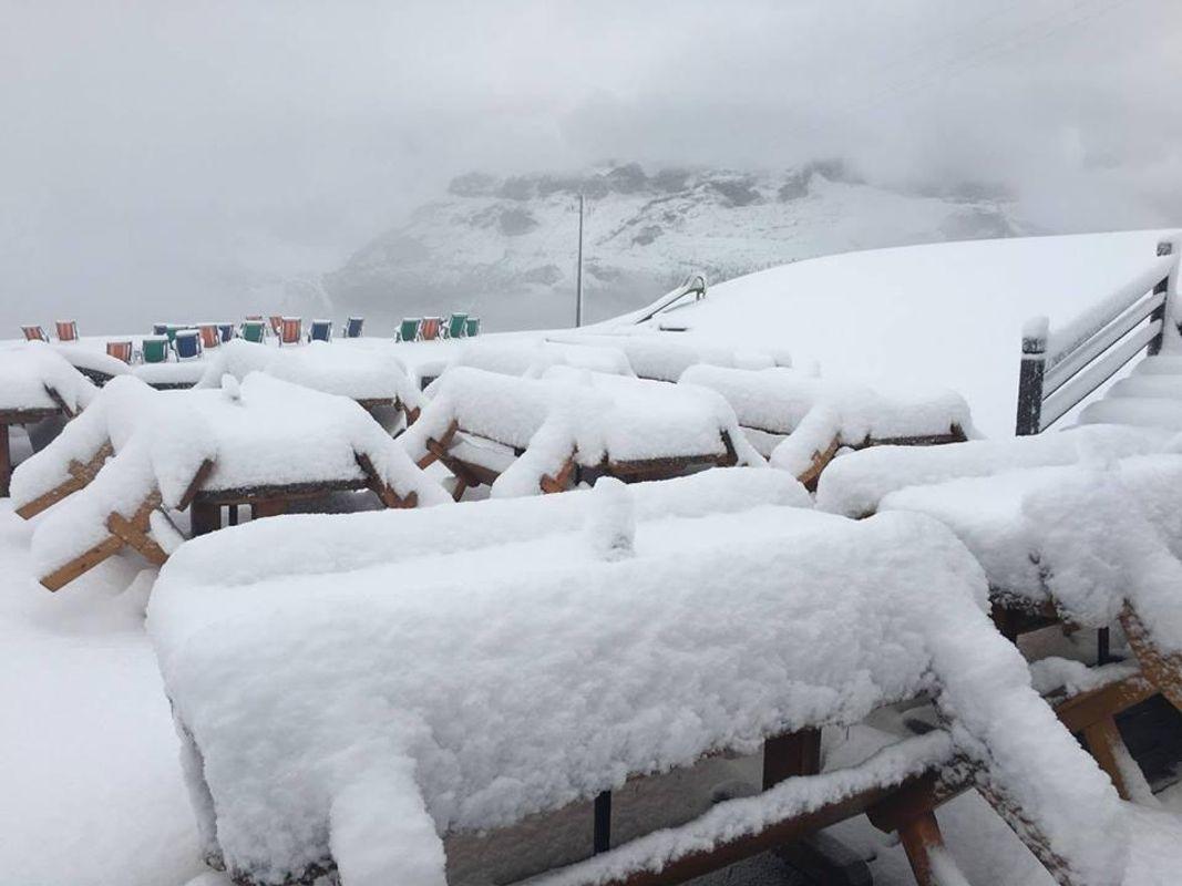 На півночі Італії випав глибокий сніг: у мережі публікують фото і відео