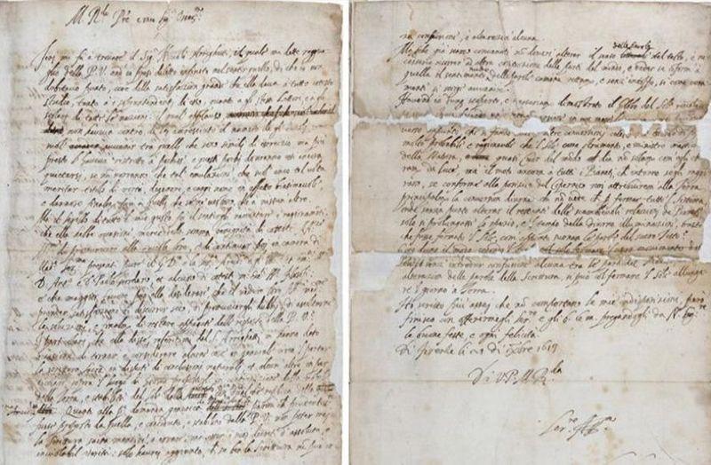 Знайдено унікальний лист, у якому Галілей вперше визнав, що Земля обертається навколо Сонця