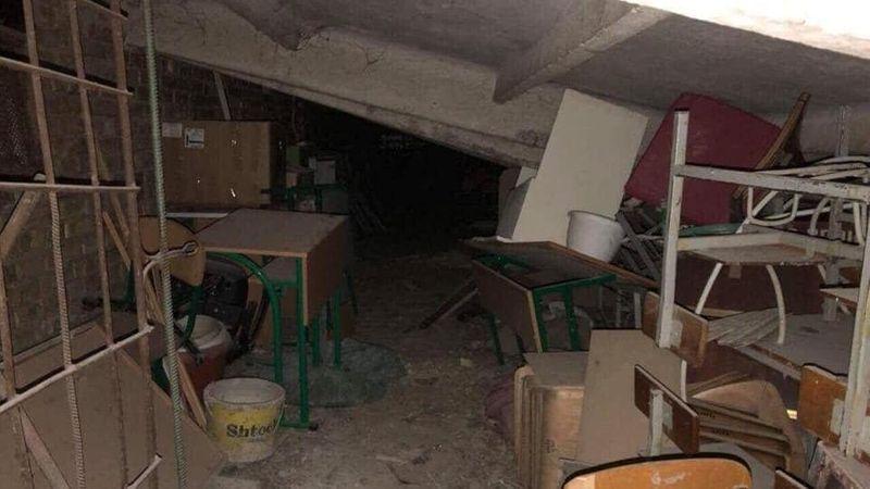 На Київщині обвалилося перекриття в підвалі школи