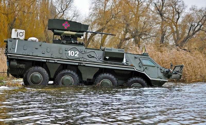 Новітній український бронетранспортер зможе протистояти навіть танкам, - штаб ООС (відео)