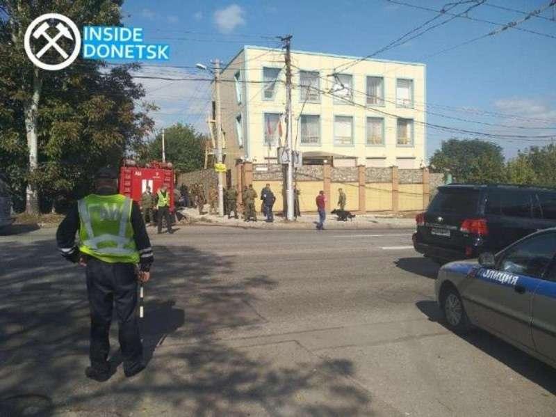 В окупованому Донецьку прогримів вибух