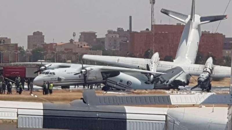 В аеропорту столиці Судану зіткнулися два українські літаки (відео)