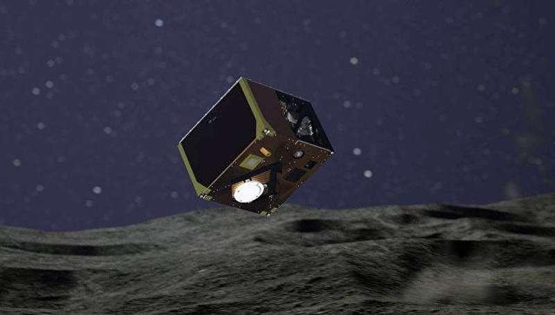 На астероїд успішно висадився третій японський зонд