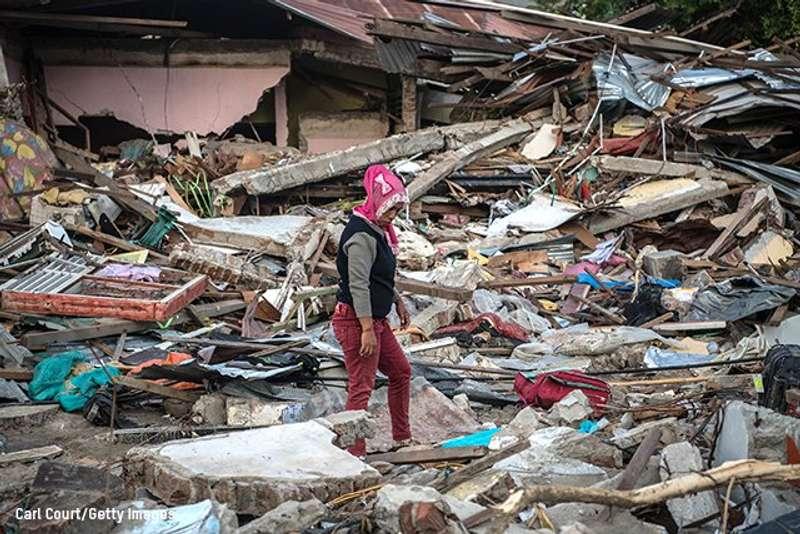 Землетрус в Індонезії: кількістьжертв перевищила 1640 осіб