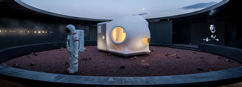 У мережі показали, як може виглядати житловий будинок на Марсі