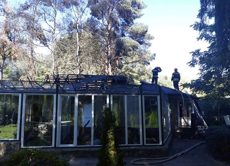 У черкаському зоопарку сталася пожежа