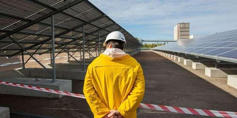 У Чорнобилі відкрили потужну сонячну електростанцію