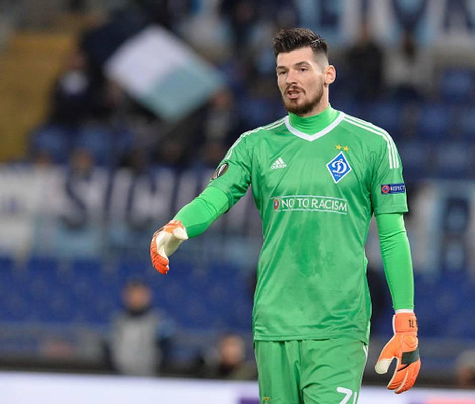 Український голкіпер несподівано став кращим у Європі