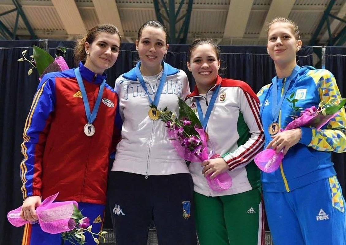 Українська шпажистка здобула перше золотона юнацькій Олімпіаді