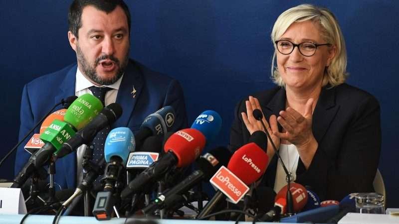 Ультраправі Франції та Італії об'єдналися перед виборами в Європаламент