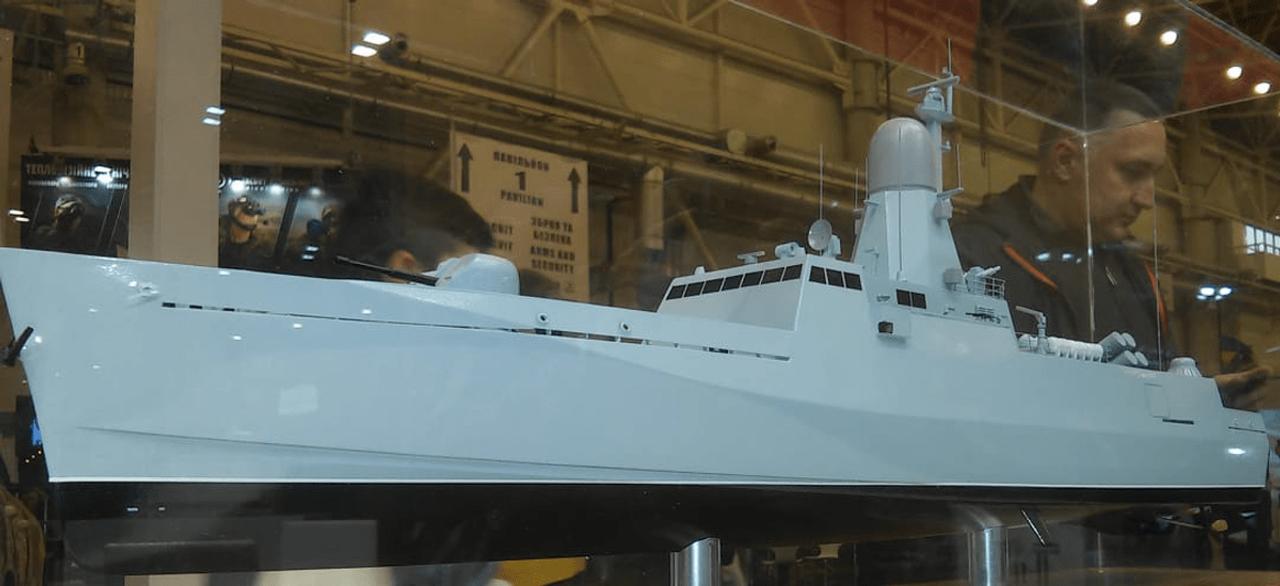 Як виглядатиме ракетний катер для ВМС України (фото)