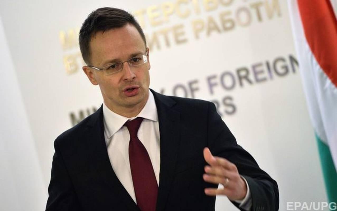 Глава МЗС Угорщини різко висловився про українських політиків