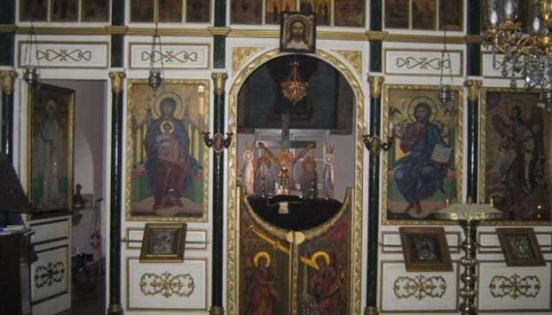 У церкві, де сталося диво Покрови, відбувся молебень за Україну
