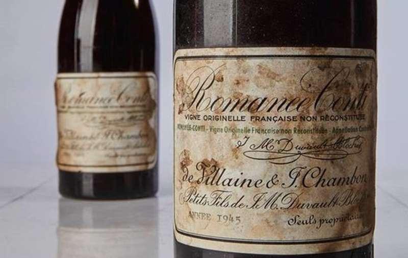 Світовий рекорд: у Нью-Йорку пляшку вина продали з аукціону за сотні тисяч доларів