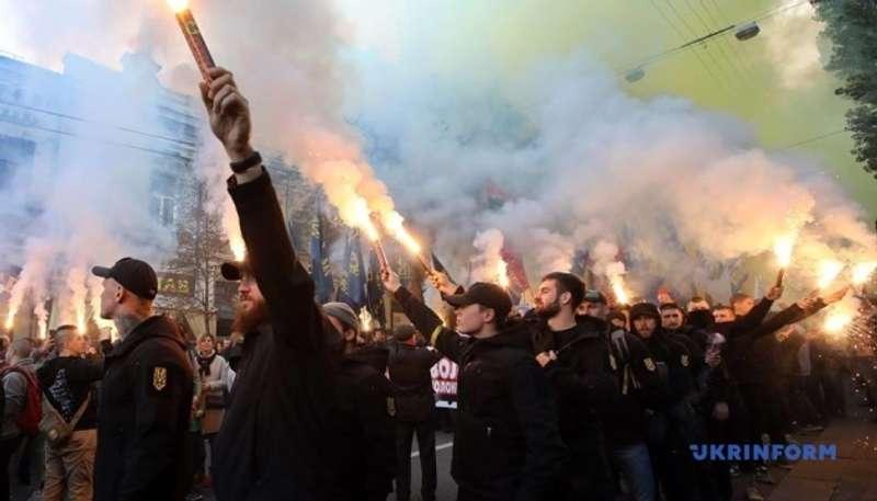 У Києві встановили національний рекорд наймасовішого виконання гімну ОУН: відео