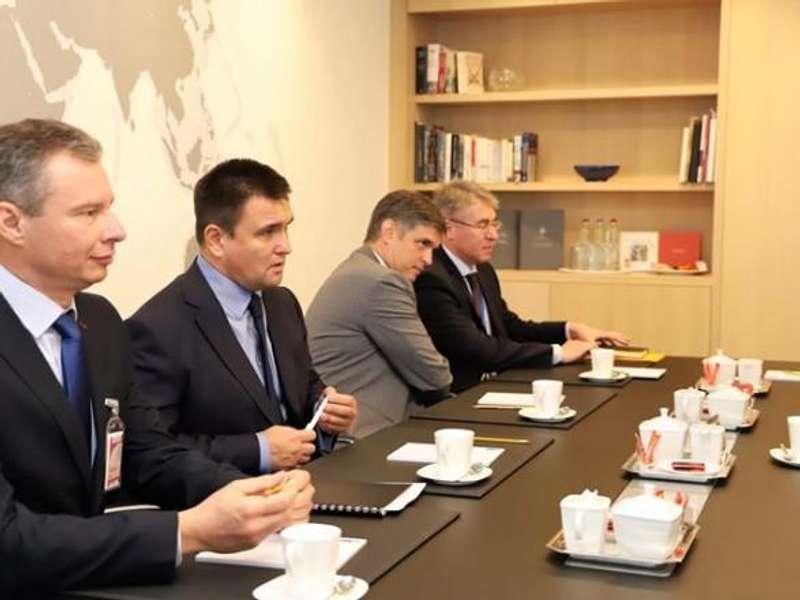 Стало відомо, про що домовлявся Клімкін із главою НАТО