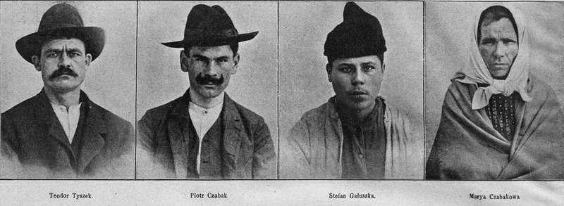 Львівські шакали: як 110 років тому сімейка серійних убивць хотіла ошукати правосуддя, вдаючи божевільних