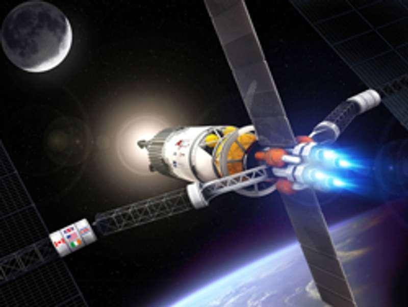 В Україні виготовлятимуть двигуни для польотів на Місяць та Марс