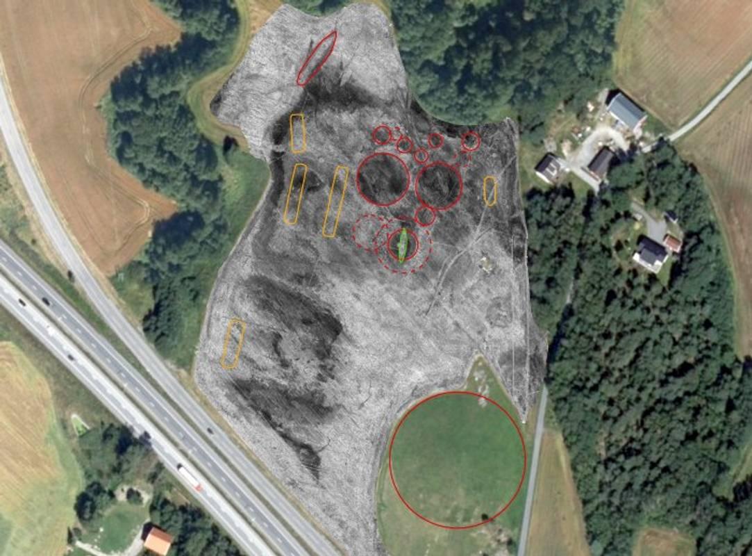 У Норвегії розкопали поховання вікінга і знайшли корабель