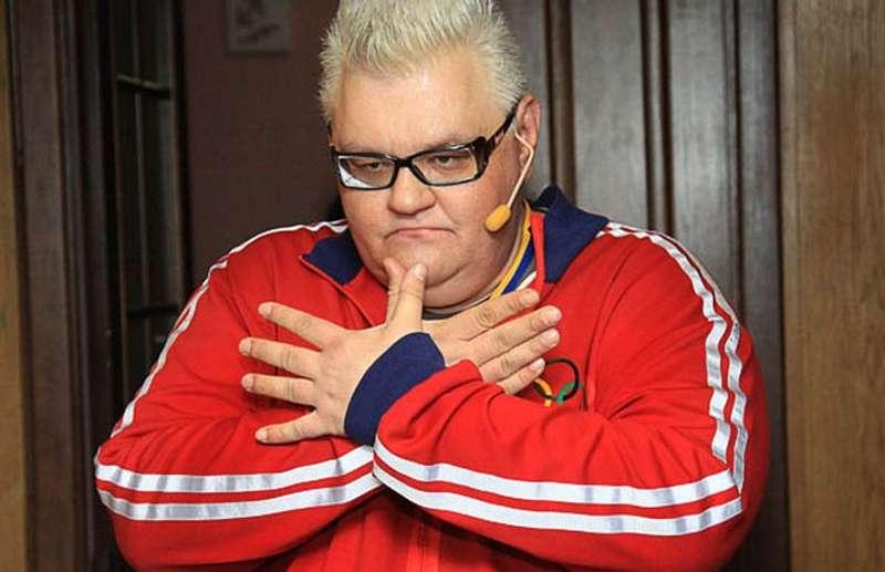Український гуморист Сергій Сивохо помітно схуд (фото)