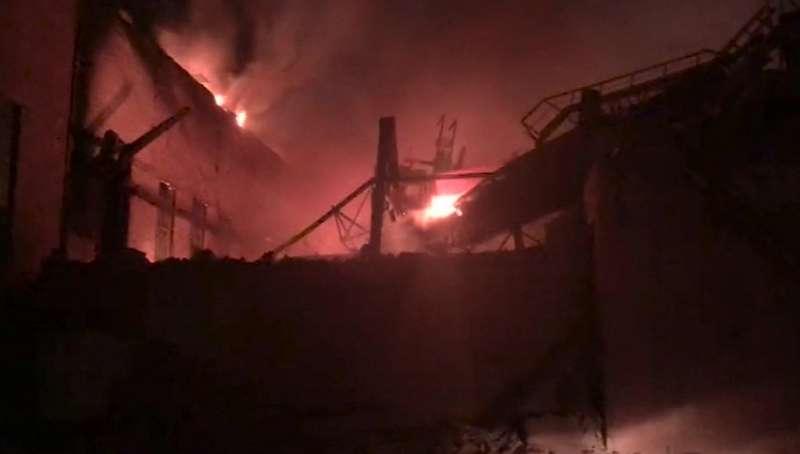 Через пожежу російський металургійний завод не працюватиме два місяці