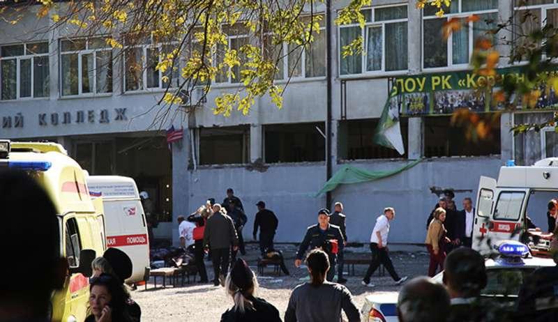 Масове вбивство у Керчі: із відеозапису спішно видалили двох імовірних спільників вбивці