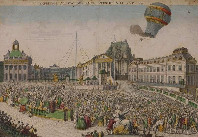 День в історії: перший парашутист стрибав з повітряної кулі і з парасолею