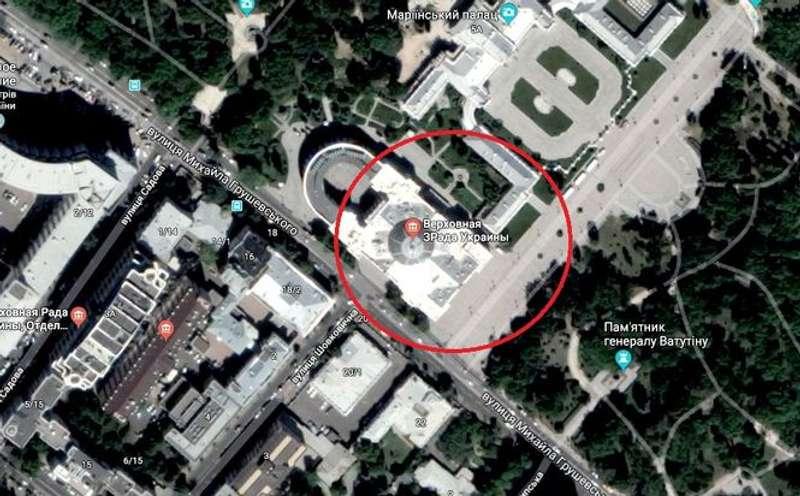 Верховна Зрада: невідомі перейменували український парламенту сервісіGoogle Maps