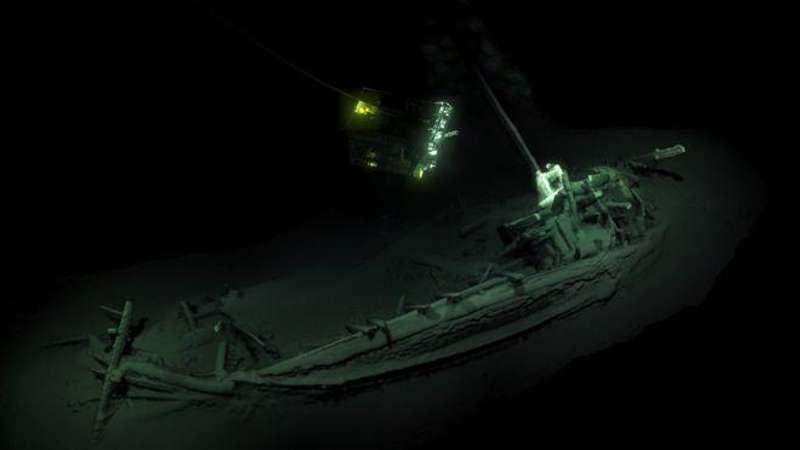 На дні Чорного моря знайшли уцілілий корабель давньогрецьких торговців