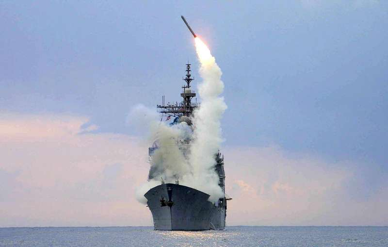 США вперше за кордоном представили нову крилату ракету Tomahawk Block IV
