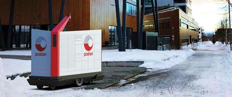У Норвегії розносити пошту довірять роботам