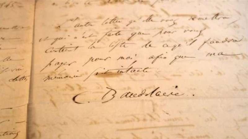 За лист Бодлера, написаний перед спробою самогубства, заплатили майже чверть мільйона євро