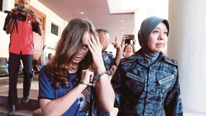 24-річну українку засудили в Малайзії до довічного ув'язнення