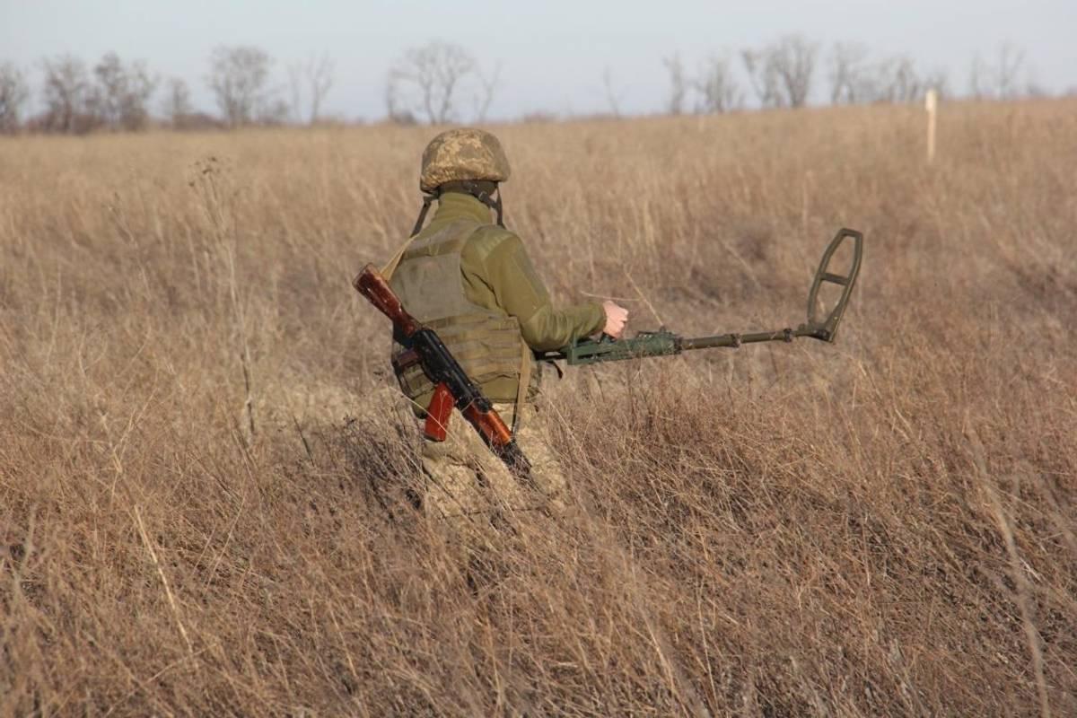 ВР ухвалила у першому читанні законопроект про розмінування Донбасу
