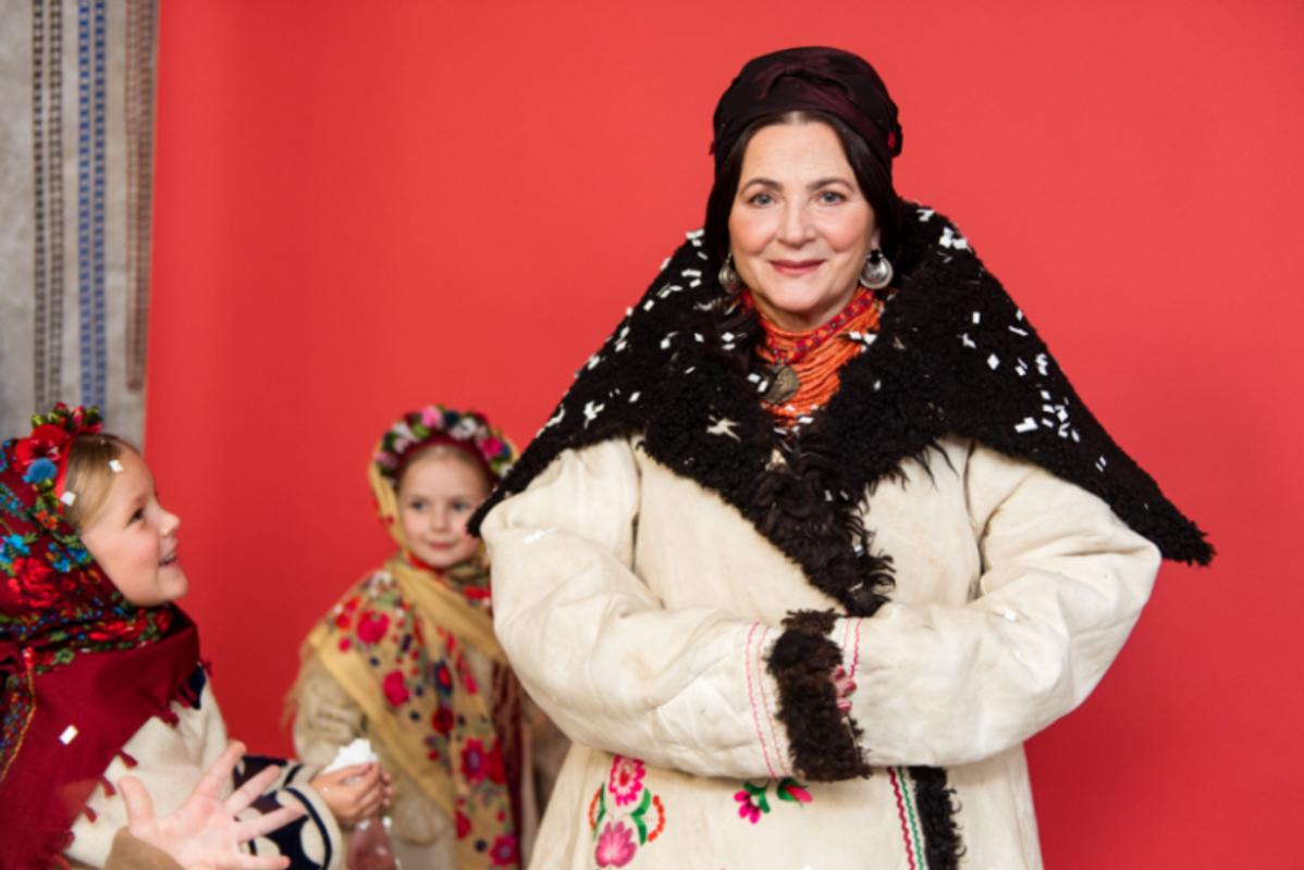 Ніна Матвієнко приміряла образ полтавської молодиці ХІХ-го століття