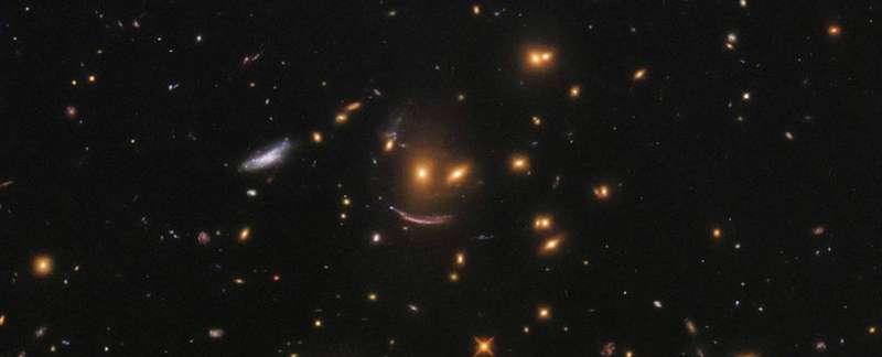 Зорі сміються: телескоп Hubble сфотографував незвичне утворення