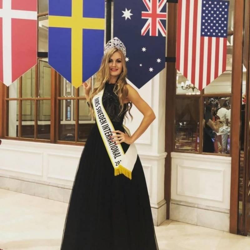 Українку визнали найкрасивішою жінкою Швеції та світу