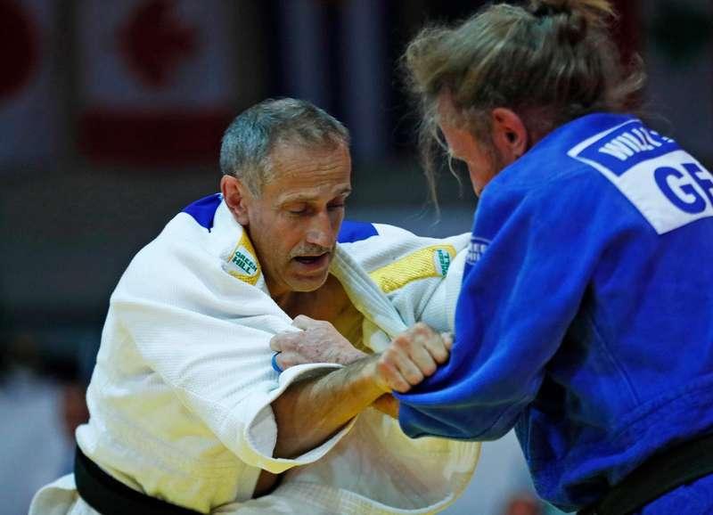 65-річний українець виграв медаль чемпіонату світу із дзюдо