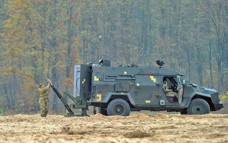 Барс-8ММК: український мобільний мінометний комплекс вражає своїми можливостями