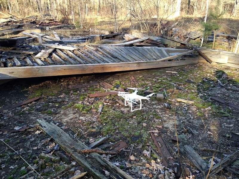 На місці пожежі на військових складах біля Ічні знайшли невідомий безпілотник