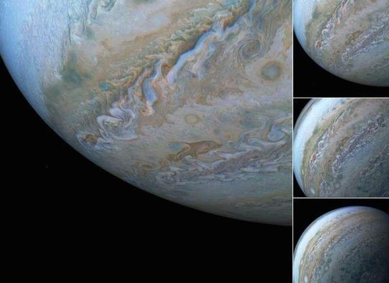 Зонд NASA сфотографував на Юпітері незвичайну хмару, яка нагадує дельфіна