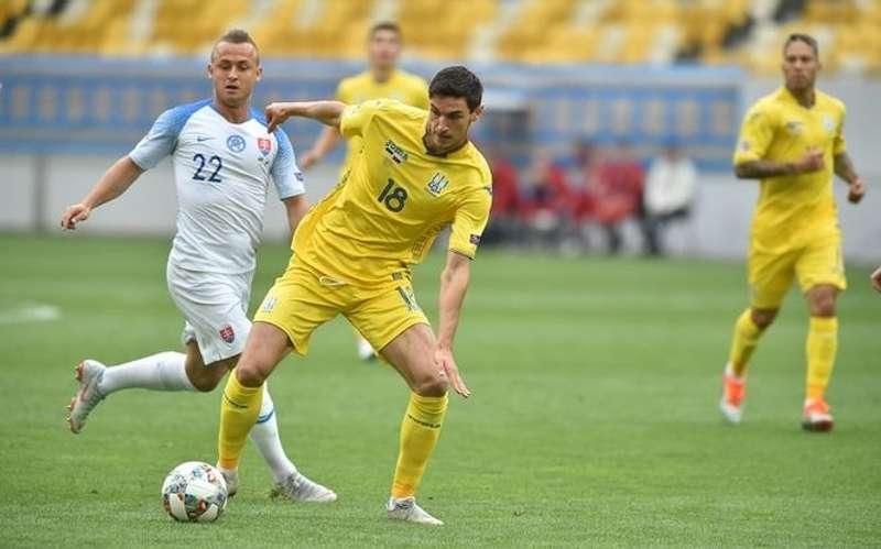 Останній матч збірної України в Лізі Націй закінчився розгромом