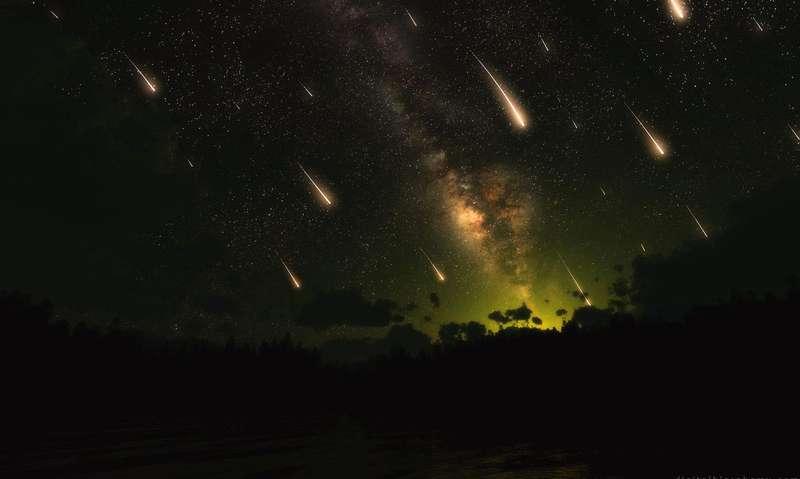 Космічний феєрверк: цієї ночі розпочинається пік метеорного потоку Леоніди