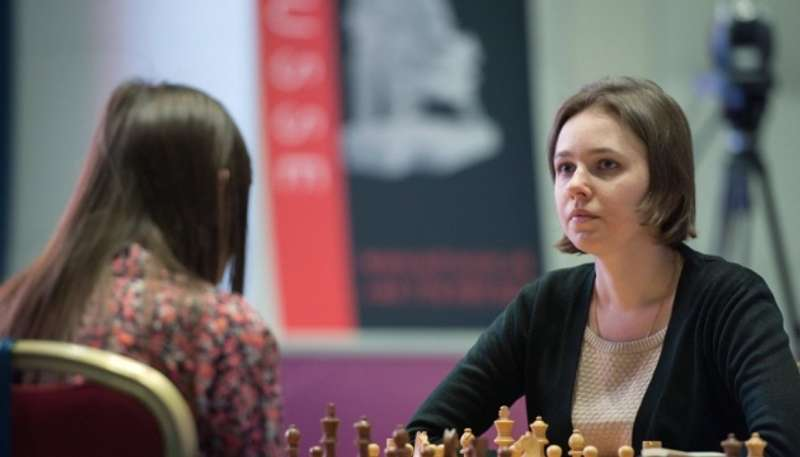 У півфіналі чемпіонату світу з шахів Марія Музичук грає проти екс-українки Лагно