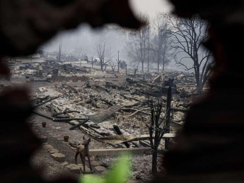 Лісові пожежі в Каліфорнії знищили понад 600 будинків