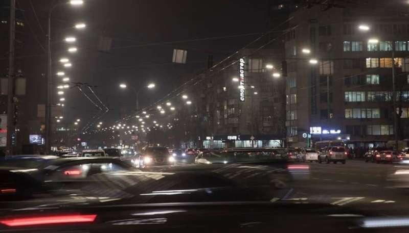 Названо дату, коли усі світильники Києва замінять LED-освітленням