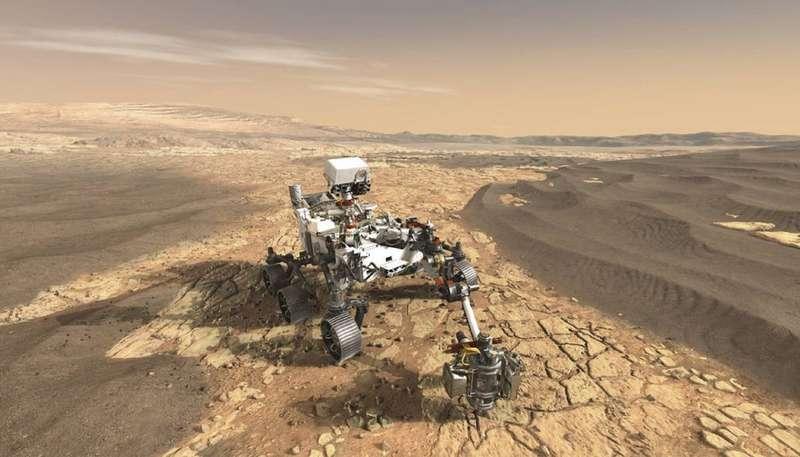 Американці висадять марсохід на місці висохлої річки