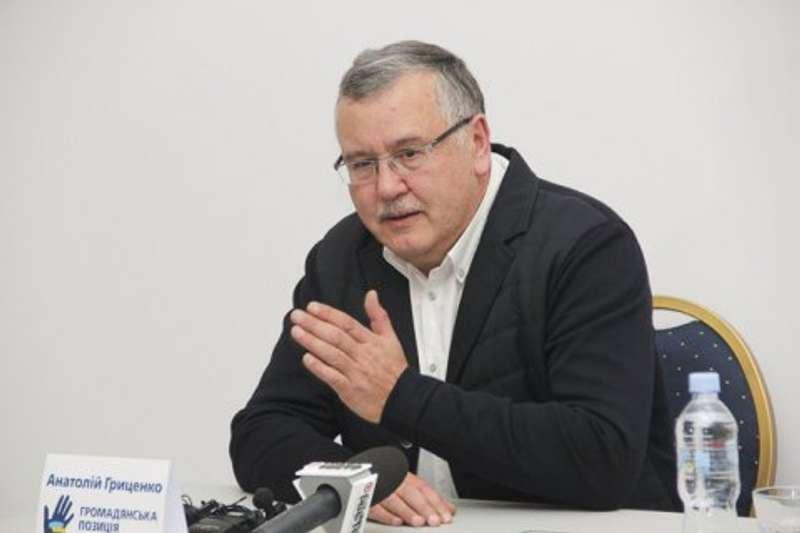 Гриценко вирішив судитися із партією Порошенка